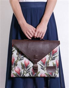 gifts: Personalised Protea Laptop Carry Bag!
