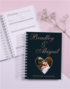 gifts: Personalised Heart Wedding Journal!