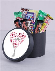gifts: Personalised Bunch of Hearts Hat Box!