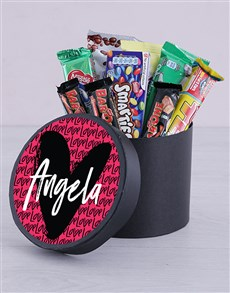 gifts: Personalised Love Hat Box!