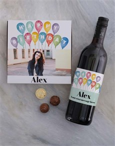gifts: Personalised Photo Birthday Chocolate Tray!