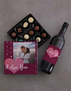 gifts: Personalised Photo Love Choc Tray!