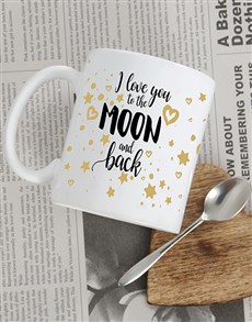 gifts: Personalised Moon and Back Mug!
