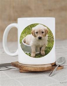 gifts: Personalised Puppy Photo Mug!