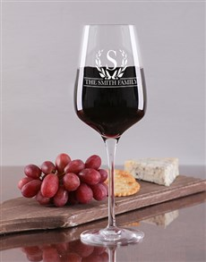 gifts: Personalised Wine Glass Set !