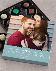 gifts: Personalised Love Photo Choc Tray!
