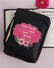 gifts: Personalised Give Thanks Bible Case!