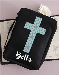 gifts: Personalised Cross Bible Case!