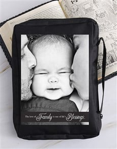 gifts: Personalised Family Blessings Bible Case !