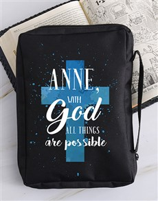 gifts: Personalised Possible Bible Case!