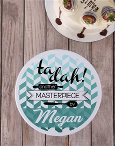 gifts: Personalised Masterpiece Cookie Tin!