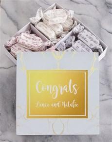 gifts: Personalised Congrats Sally Williams Nougat Box!