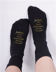 gifts: Personalised Makes Everything Better Socks!