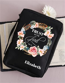 gifts: Personalised Trust Bible Case!