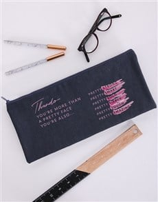 gifts: Personalised Pretty Pencil Bag!