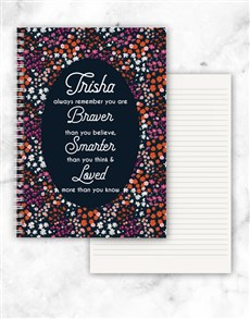 gifts: Personalised Always Remember Notebook!