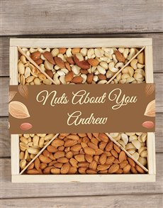 gifts: Personalised Nuts About You Tray!