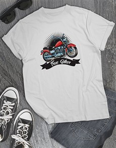 gifts: Personalised Im A Biker Mens Shirt!