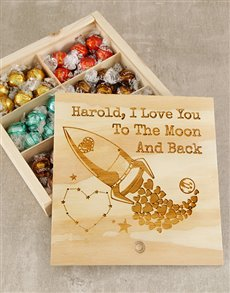 gifts: Personalised I Love You Choc Box!