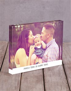 gifts: Personalised Happy Time Acrylic Block!