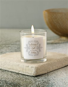 gifts: Personalised Shines Within Candle!