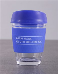 gifts: Personalised Dont Do It Travel Mug!