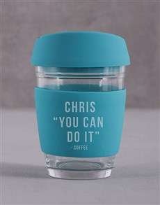 gifts: Personalised You Can Do It Travel Mug!