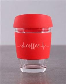 gifts: Personalised Heartbeat Travel Mug!