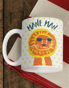 gifts: Personalised Mane Man Mug!
