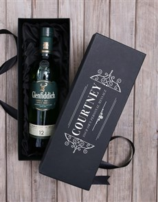 gifts: Personalised Glenfiddich Whisky Box!