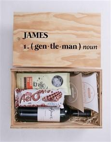 gifts: Personalised Gentleman Man Crate!