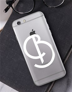 gifts: Personalised Deco Initial iPhone Cover!