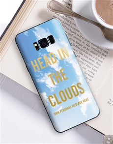 gifts: Personalised Clouds Samsung Cover!
