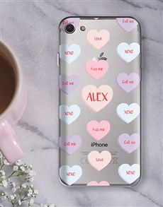 gifts: Personalised Sweetheart iPhone Cover!
