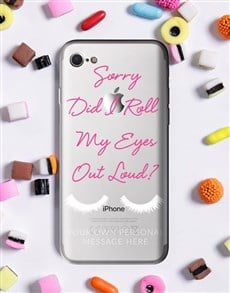 gifts: Personalised Eyeroll iPhone Cover!