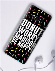 gifts: Personalised Donut Samsung Cover!