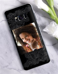 gifts: Personalised Mehndi Photo Samsung Cover!