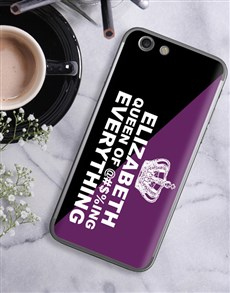 gifts: Personalised Queen iPhone Cover!