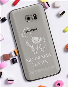 gifts: Personalised Llama Samsung Cover!