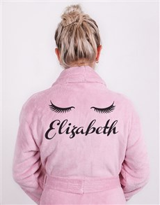 gifts: Personalised Good Morning Pink Gown!