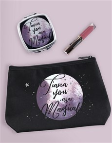 gifts: Personalised Magical Cosmetic Bag!
