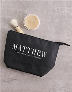 gifts: Personalised Perfection Gents Wash Bag!