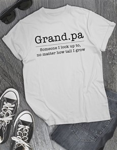 gifts: Look Up To Grandpa Shirt!
