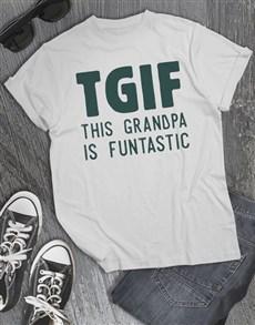 gifts: Funtastic Grandpa Shirt!