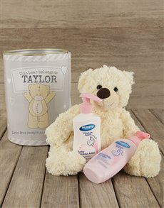gifts: Personalised Baby Gift Tin!
