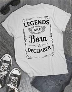 Personalised Legends Shirt for Men