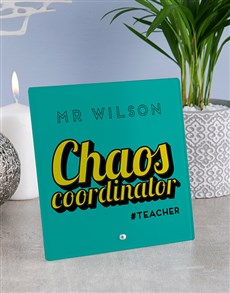 gifts: Personalised Chaos Glass And Stone Tile!
