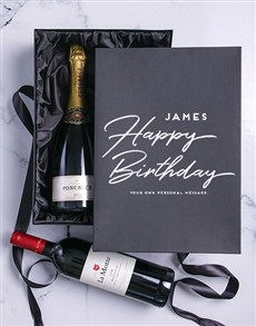gifts: Personalised Birthday Duo Giftbox!