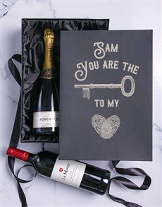 gifts: The Key Personalised Duo Giftbox!
