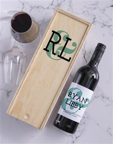 gifts: Ampersand Personalised Wine and Crate!